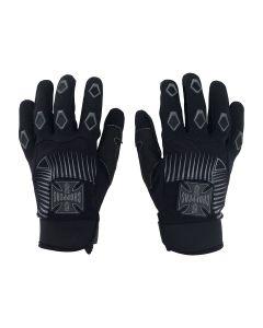West Coast Choppers Por Vida Gloves - Black