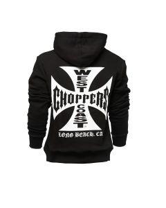 WEST COAST CHOPPERS OG CLASSIC HOODY ZIP - Black