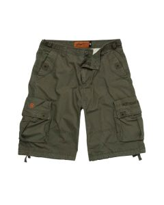 CAINE RIPSTOP CARGO SHORT - OLIVE GREEN