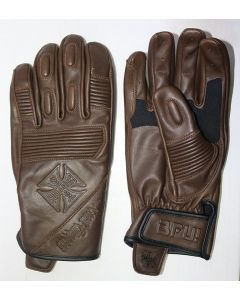 WCC - BFU LEATHER RIDING GLOVE - Tobacco brown
