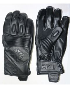 WCC - BFU LEATHER RIDING GLOVE - Black