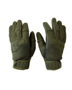 STATEMENT NEOPRENE GLOVE - OLIVE GREEN