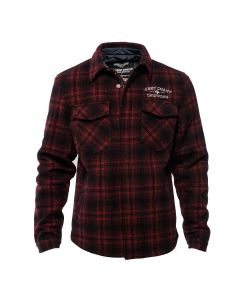 WCC - QUILTED GANG JACKET - Red/Black