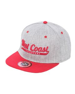 BALL HAT - Grey/red