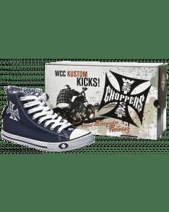 WCC Warrior Hi-Tops - Navy