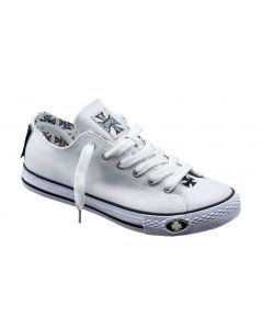 Warrior Low Tops - White
